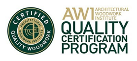 Architectural Woodwork Institute Quality Certification Program logo Omaha