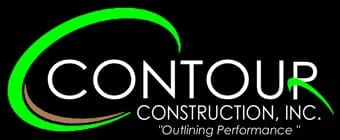 Contour Construction logo black