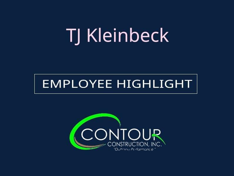 News - Employee Highlight - TJ Kleinbeck
