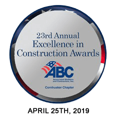 ABC Cornhusker Chapter Excellence in Construction Award