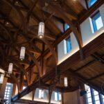 St. Wenceslaus Catholic Church Wood Beams