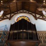 St. Wenceslaus Catholic Church wood reredos