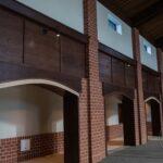 St. Wenceslaus Catholic Church paneling