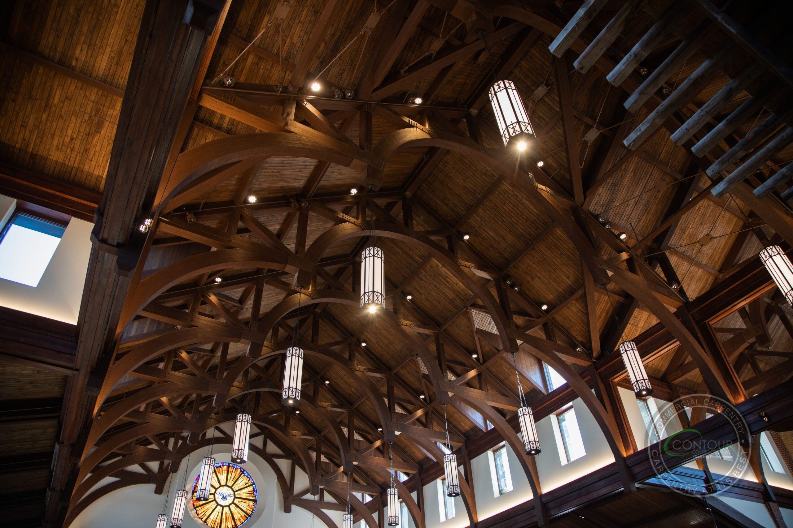 St. Wenceslaus Catholic Church glulam beam