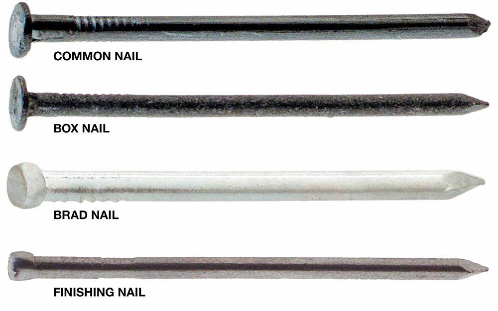 Difference Between Brad Nails vs. Finish Nails